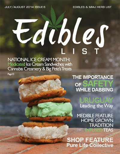 Edibles List Magazine July/August 2014 Issue