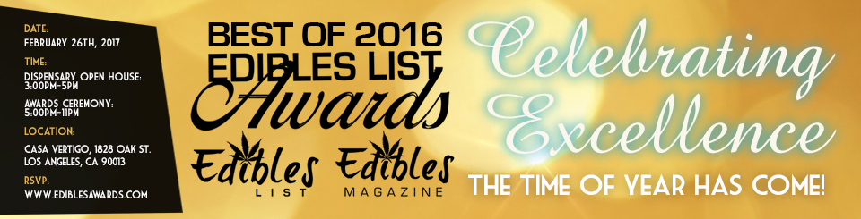 EDIBLES LIST AWARDS