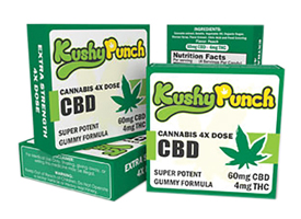 Kushy Punch CBD Edibles - California