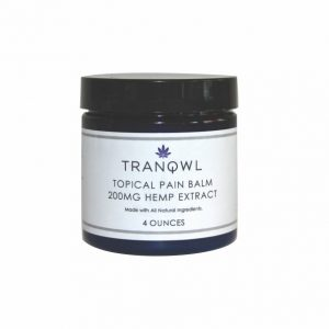 Tranqwl 4oz CBD Topical